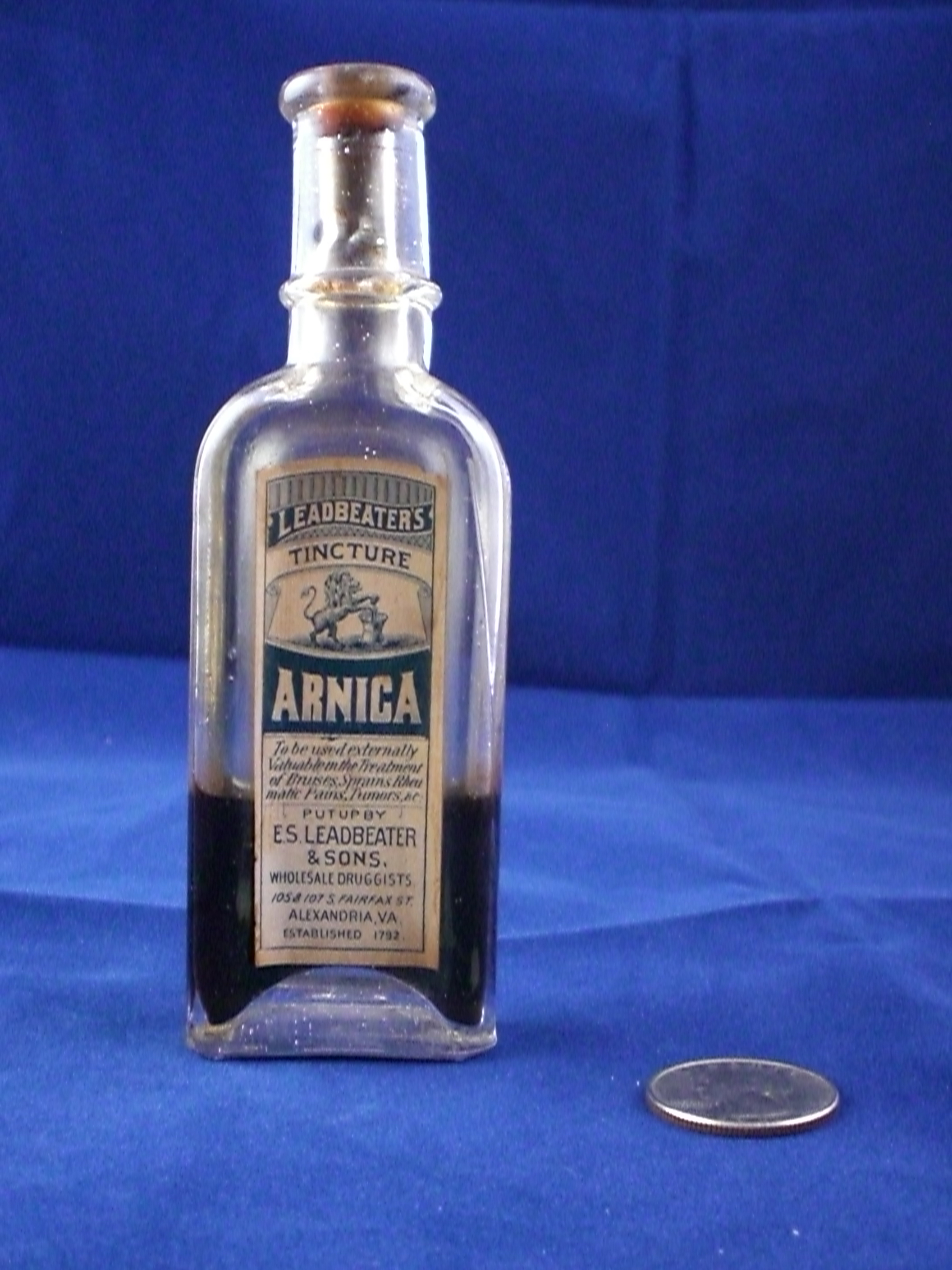 Arnica Stabler Leadbeater apothecary