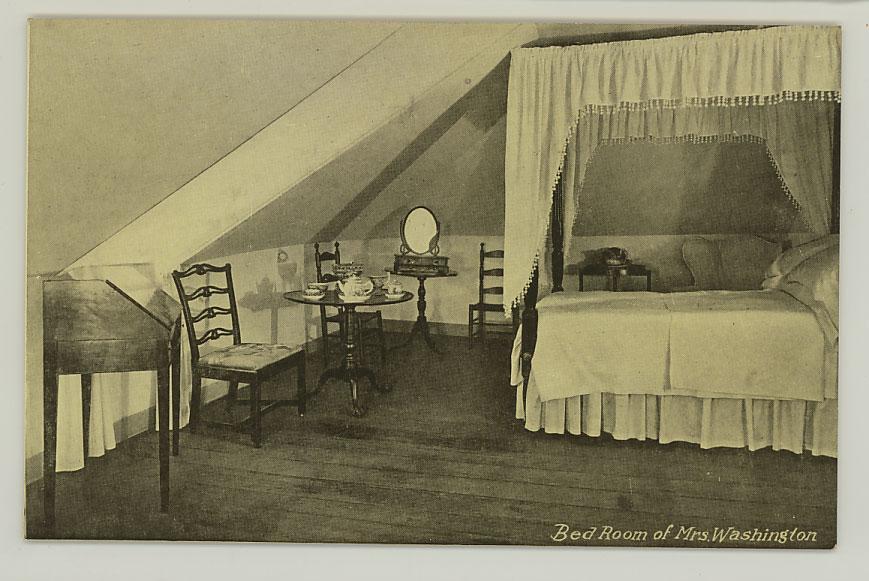 BedroomofMarthaWashington