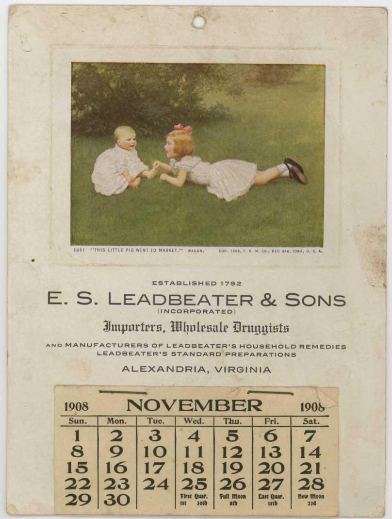 leadbeater1908calendar