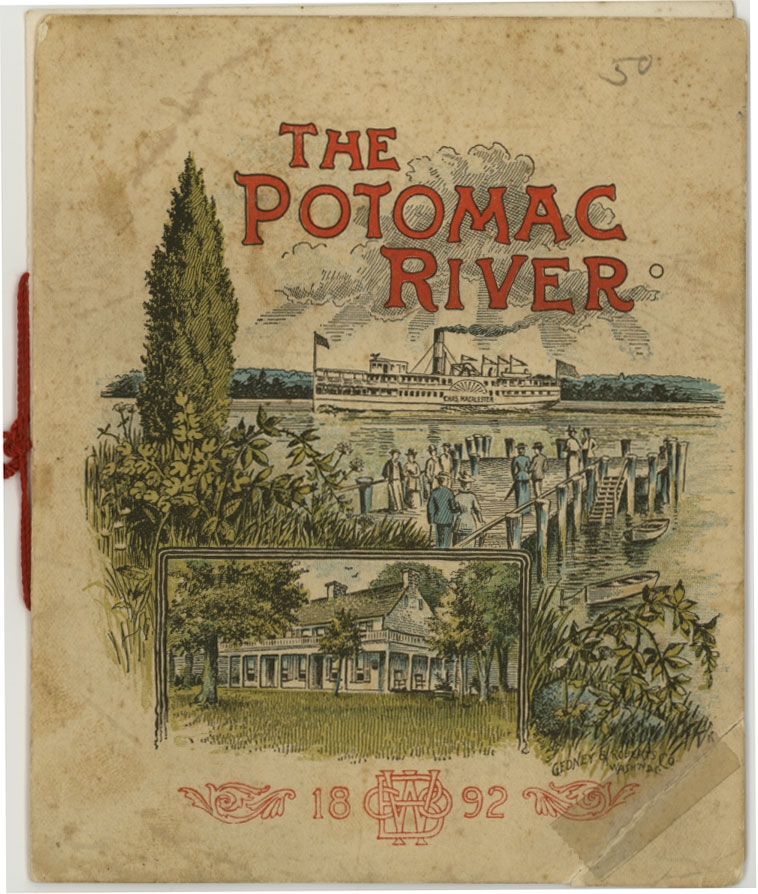 Washington brewery guide to the Potomac River 1892