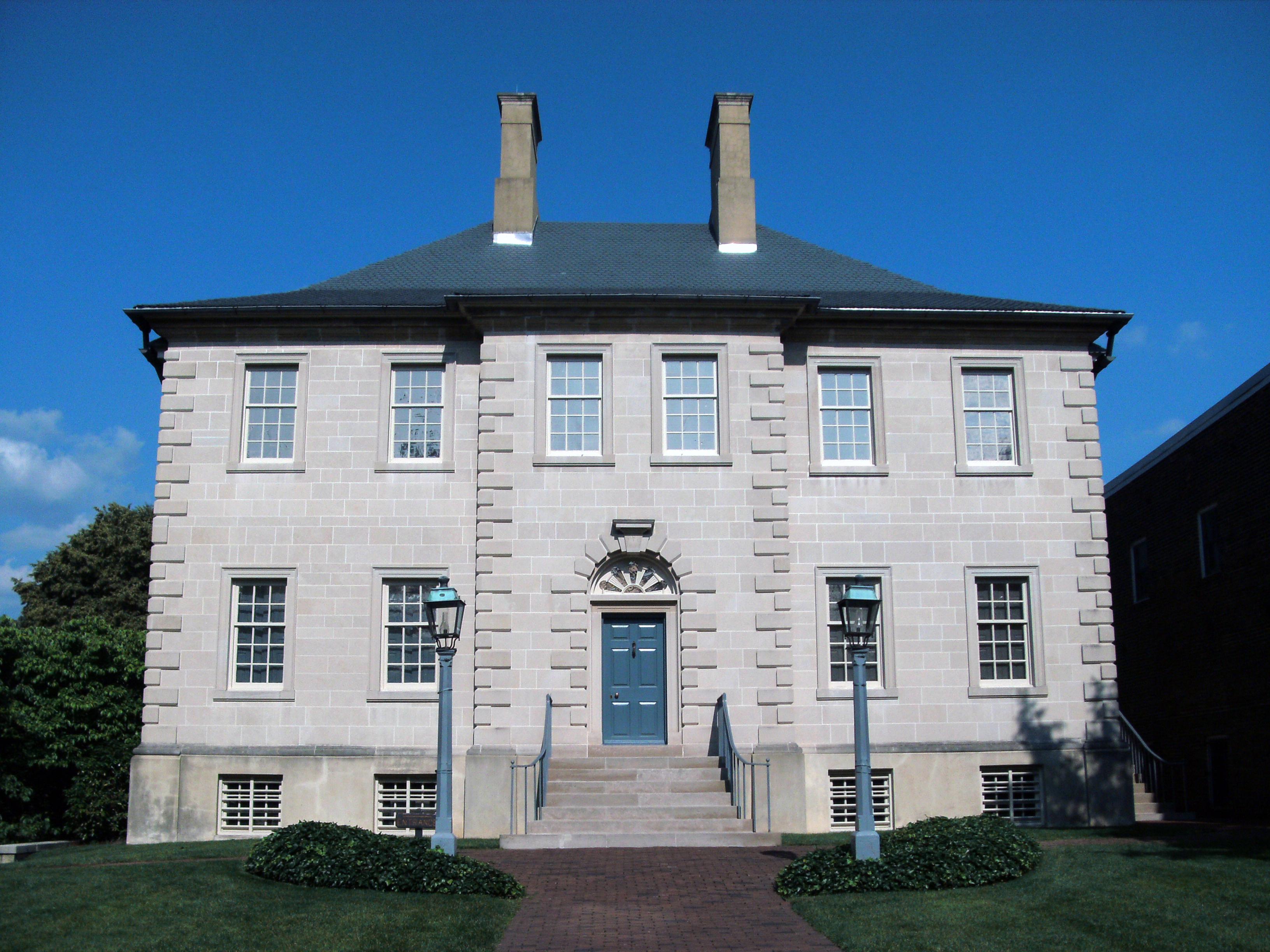 Carlyle House John Carlyle Alexandria Virginia