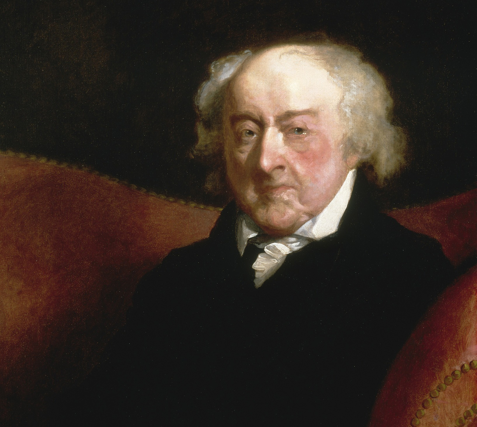 President John Adams visit Alexandria for the first time